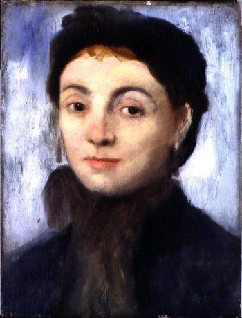 Portrait of Josephine Gaujelin 1867 | Edgar Degas | oil painting