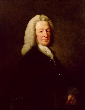 Portrait of Judge Richard Wilson | Benjamin Wilson | oil painting