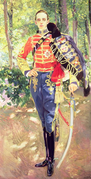 Portrait of King Alfonso XIII | Joaquin Sorolla y Bastida | oil painting