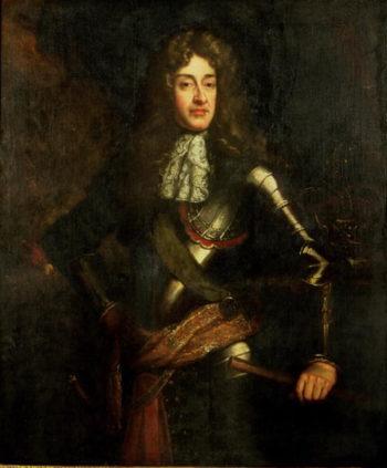 Portrait of King James II | Sir Godfrey Kneller | oil painting