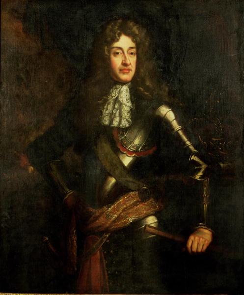 Portrait of King James II   Sir Godfrey Kneller   oil painting