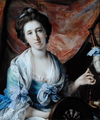 Portrait of Lady Hoare | Francis Cotes | oil painting