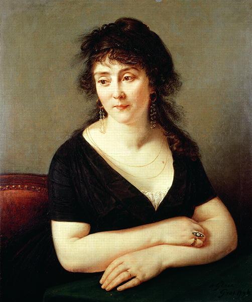 Portrait of Madame Bruyere 1796 | Baron Antoine Jean Gros | oil painting