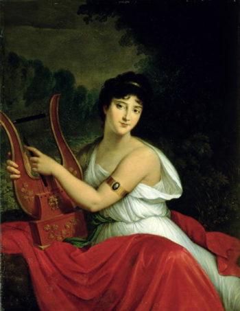 Portrait of Madame de la Pleigne | Francois Pascal Simon Gerard | oil painting