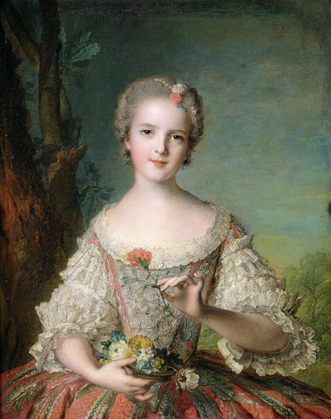 Portrait of Madame Louise de France | Jean Marc Nattier | oil painting