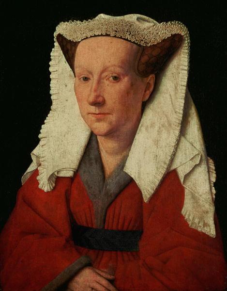 Portrait of Margaret van Eyck 1439 | Jan van Eyck | oil painting