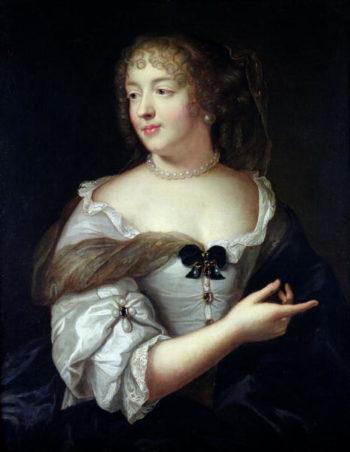 Portrait of Marie de Rabutin Chantal Madame de Sevigne | Claude Lefebvre | oil painting