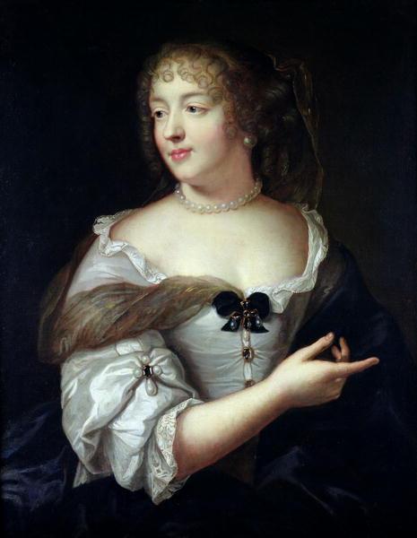 Portrait of Marie de Rabutin Chantal Madame de Sevigne   Claude Lefebvre   oil painting