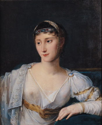 Portrait of Marie Pauline Bonaparte | Robert Lefevre | oil painting