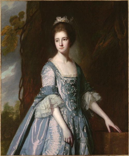 Portrait of Mary White 1770 | George Romney | oil painting