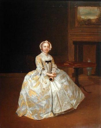Portrait of Miss Elizabeth Hemyng 1738 42 | Arthur Devis | oil painting