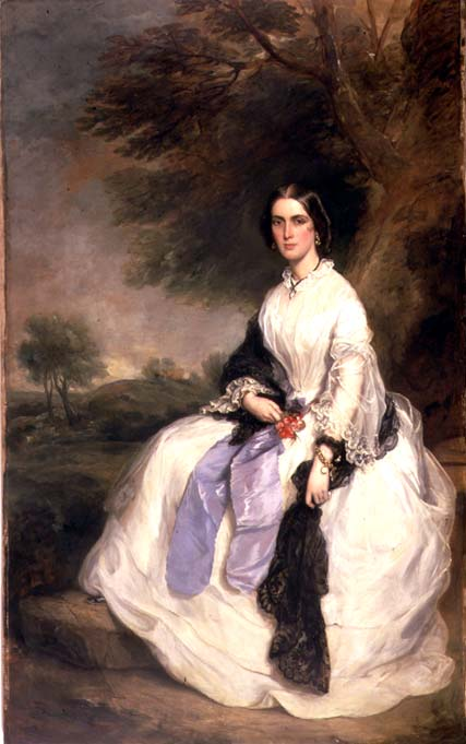 Portrait of Mrs John Hick 1861 | Sir Francis Grant | oil painting