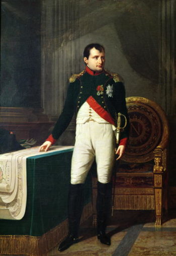 Portrait of Napoleon Bonaparte | Robert Lefevre | oil painting