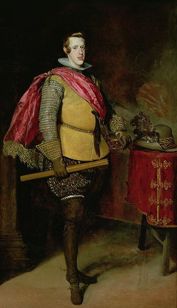 Portrait of Philip IV | Diego Rodriguez de Silva y Velasquez | oil painting