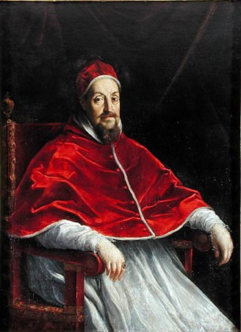 Portrait of Pope Gregory XV | Guido Reni | oil painting