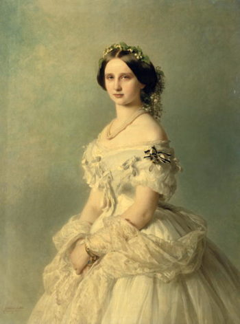Portrait of Princess of Baden | Franz Xavier Winterhalter | oil painting
