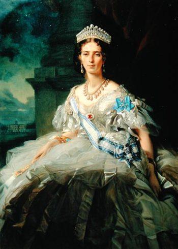 Portrait of Princess Tatiana Alexanrovna Yusupova 1858 | Franz Xavier Winterhalter | oil painting