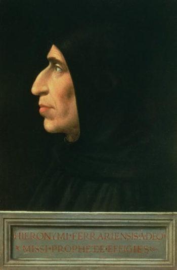 Portrait of Savonarola | Fra Bartolommeo | oil painting