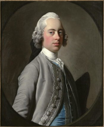 Portrait of Sir Henry Mainwaring | Allan Ramsay | oil painting