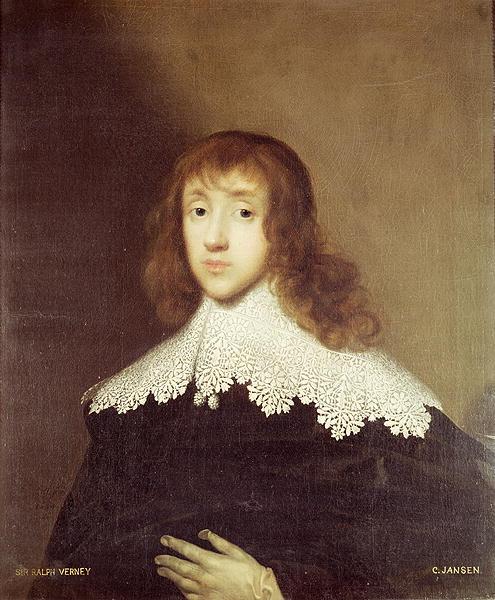Portrait of Sir Ralph Verney | C Jansen | oil painting