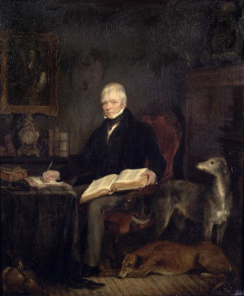 Portrait of Sir Walter Scott | Sir Francis Grant | oil painting