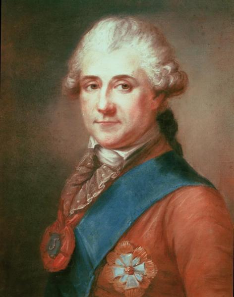 Portrait of Stanislas II Augustus | Marcello Bacciarelli | oil painting