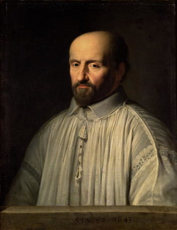 Portrait of the Abbot of Saint Cyran 1643 | Philippe de Champaigne | oil painting