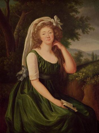 Portrait of the Countess du Barry   Elisabeth Louise Vigee Lebrun   oil painting