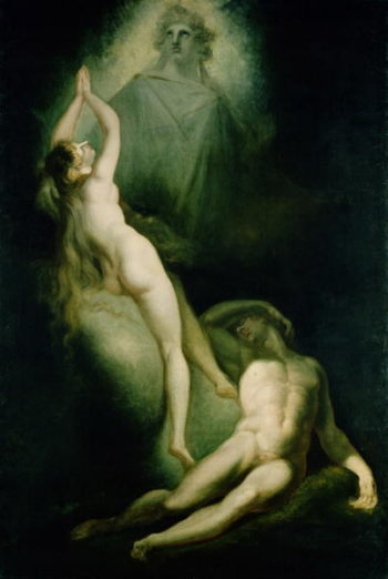 The Creation of Eve 1791 93 | Henry Fuseli | oil painting