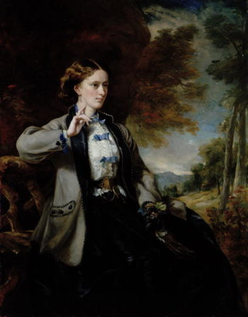 Portrait of the Hon Mrs Meynell Ingram | Sir Francis Grant | oil painting