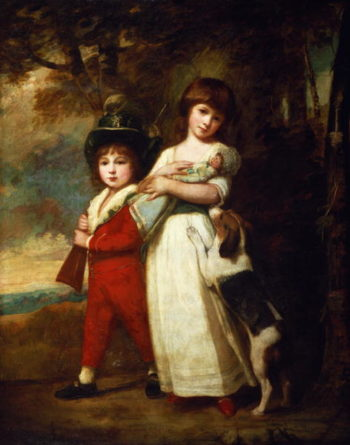 Portrait of the Vernon children | George Romney | oil painting