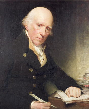 Portrait of Warren Hastings | Sir William Beechey | oil painting