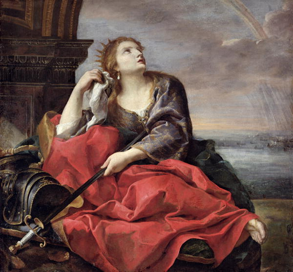 The Death of Dido | Andrea Sacchi | oil painting
