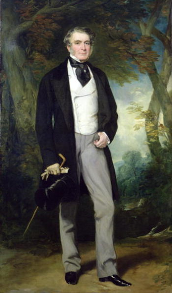 Portrait of William Beckett | Sir Francis Grant | oil painting
