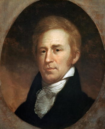 Portrait of William Clark 1807 | Charles Willson Peale | oil painting
