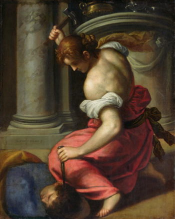 The Death of Sisera | Palma Il Giovane | oil painting