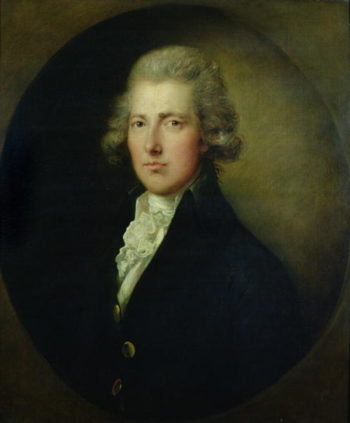 Portrait of William Pitt the Younger | Gainsborough Dupont | oil painting
