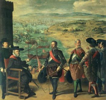 The Defence of Cadiz against the English 1634 | Francisco de Zurbaran | oil painting