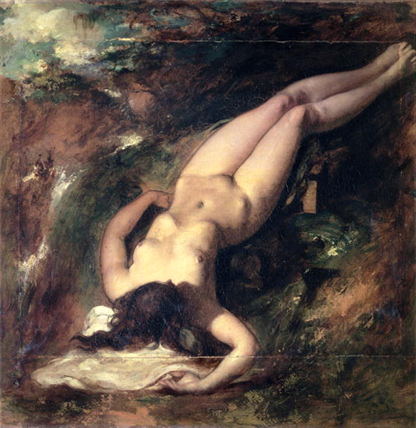 The Deluge | William Etty | oil painting