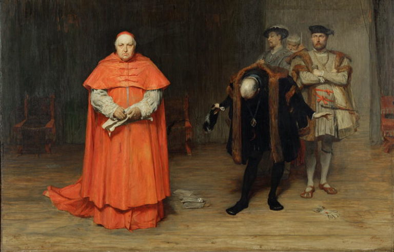 The Disgrace of Cardinal Wolsey | John Pettie | oil painting