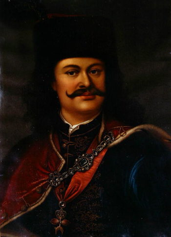 Prince Ferenc Rakoczi II | Adam Manyoki | oil painting