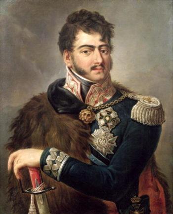 Prince Josef Poniatowski   Antoni Brodowski   oil painting