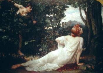 Procris | Henrietta Rae | oil painting