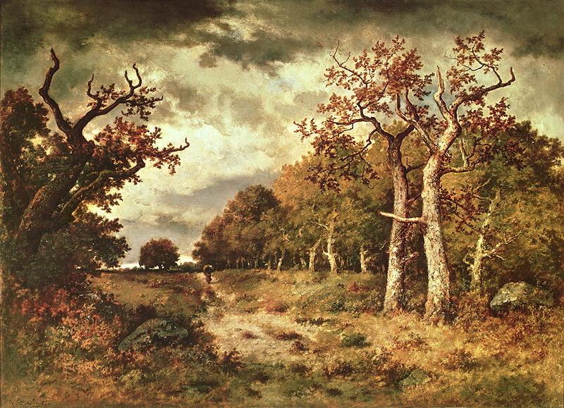 The Edge of the Forest 1871 | Narcisse Virgile Diaz de la Pena | oil painting