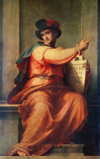 Prophet Isaiah | Fra Bartolommeo | oil painting