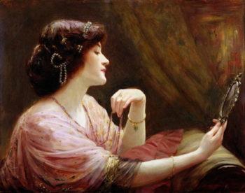 The Enamelled Chain 1911 | Frank Markham Skipworth | oil painting