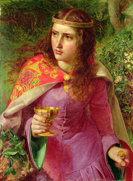 Queen Eleanor 1858 | Anthony Frederick Augustus Sandys | oil painting