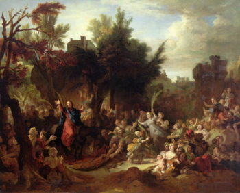 The Entry of Christ into Jerusalem 1720 | Nicolas de Largilliere | oil painting