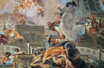 The Entry of St Ignatius into Paradise 1707 | Andrea Pozzo | oil painting
