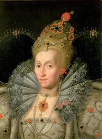 Queen Elizabeth I | Marcus Gheeraerts | oil painting